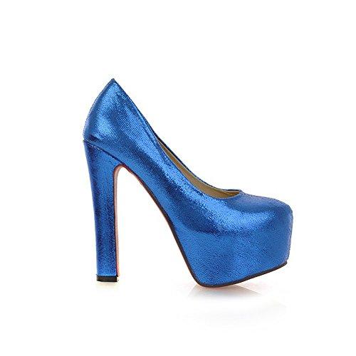 Adee Chaussures À Talons Bleus Pour Femmes