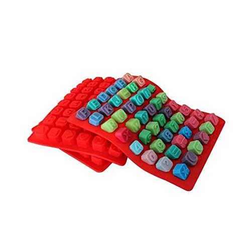 Rocita Molde de Silicona para Tartas de 48 cavidades con números de...