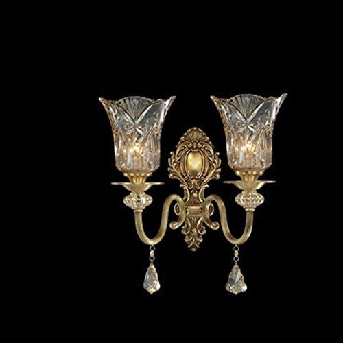 European-style full-ottone lampada/ Luce di cristallo/corridoio/balcone/luci della stanza/ luce del portico/B-B