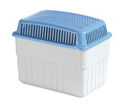 entfeuchter keller Wenko 5410010100 Feuchtigkeitskiller 1 kg - Raumentfeuchter, 24 x 16 x 15 cm, weiß