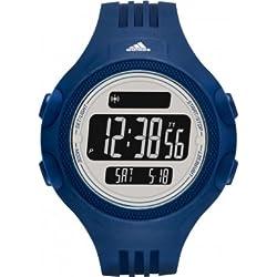 Adidas ADP3266 QUESTRA Uhr Herrenuhr Kunststoff Kunststoff 5m Digital Datum Licht Alarm Timer blau