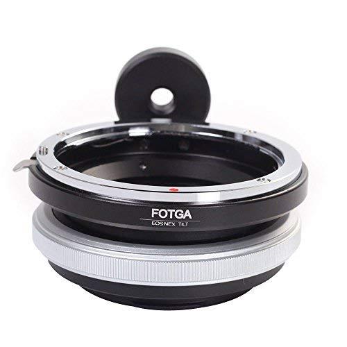 Lens Mount Adapter für Canon EOS EF Objektiv auf Sony E Mount Adapter Ring Feind, NEX-C3NEX-5N NEX-VG10A7S A7R a7II a7sii a7rii a7iii a7riii a7siii A9A6500A6300A6000A5100A5000A3500 Tilt-adapter