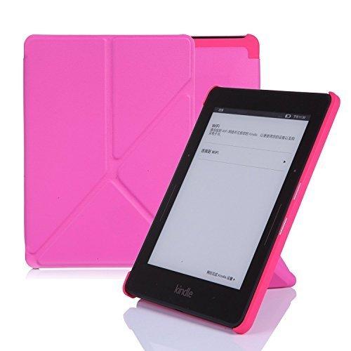 nouske Schutzhülle ORIGAMI für Amazon Kindle Paperwhite Reise Rosé Kindle Voyage (7th Generation)