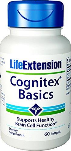 Life Extension, Cognitex Basics, 60 Weichkapseln