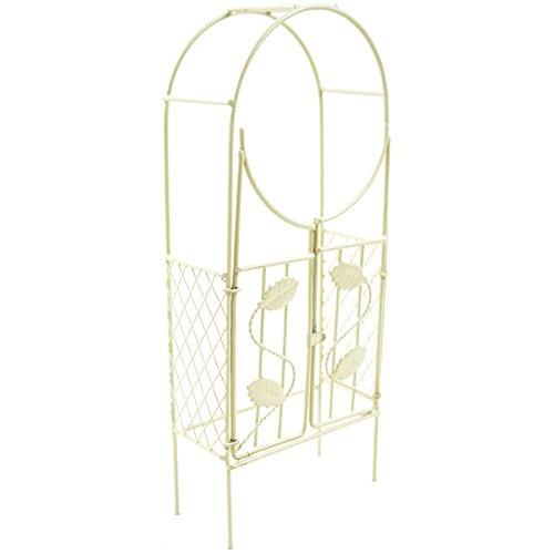 Mini Iron Garden Arch W/Gate 3\\