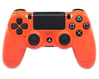 Orange Ps4 Modded Controller 35 mods BO2, BO3, Advanced Warfare, Destiny, Ghosts, MW3 Rapid Fire QUICKSCOPE, JITTER, DROP SHOT, AUTO AIM ZOMBIE