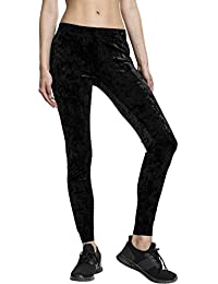 Urban Classics Ladies Velvet Leggings, Femme