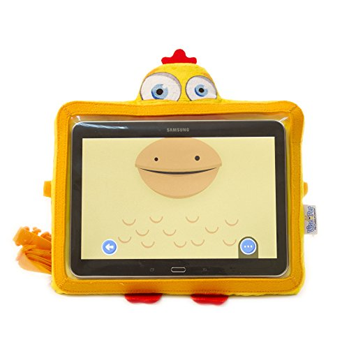"Wise Pet WPSUNNY - Funda para tablets de 9"" a 10"", diseño gallina"