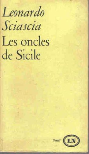 Les Oncles De Sicile [Pdf/ePub] eBook
