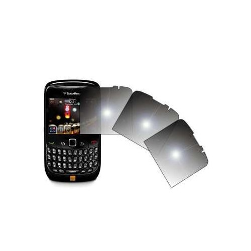 EMPIRE 3 Pack of Premium Reusable LCD Mirror Screen Protectors for Blackberry Curve 8520 Mirror Screen Lcd Protector