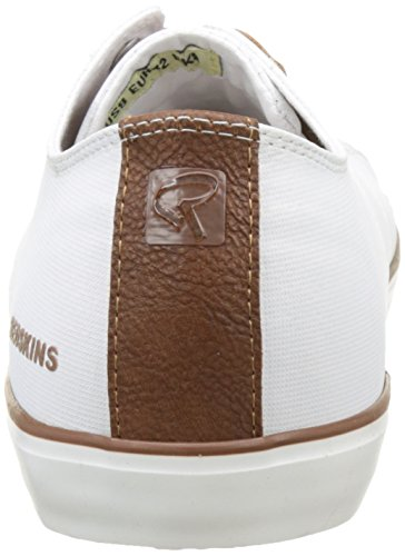Redskins Rizzoli, Baskets Basses Homme Blanc (Blanc+Cognac)
