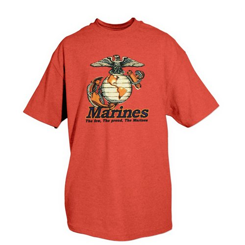 Fox Outdoor Marines One-Sided Imprinted T-Shirt