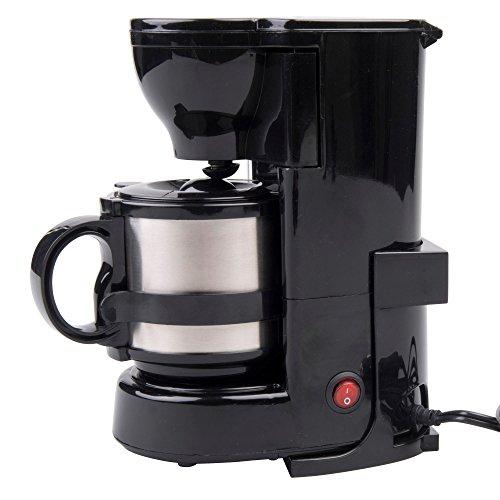Preisvergleich Produktbild Warenhandel König 24V 24 Volt LKW Kaffeemaschine mit Isolierkanne und Permanentfilter,  24 Volt 300 Watt Filterkaffeemaschine mit Halterung