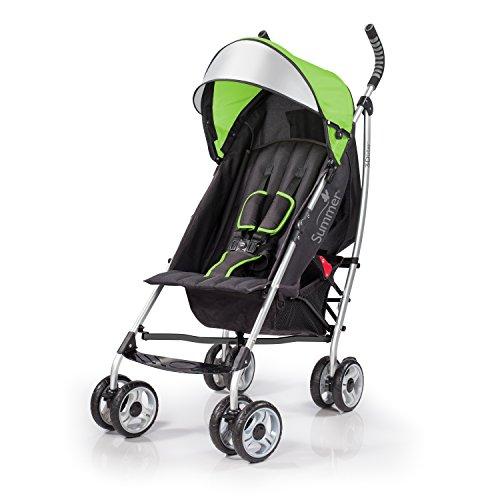 Summer Infant 2015 3D Lite Convenience Stroller, Tropical Green