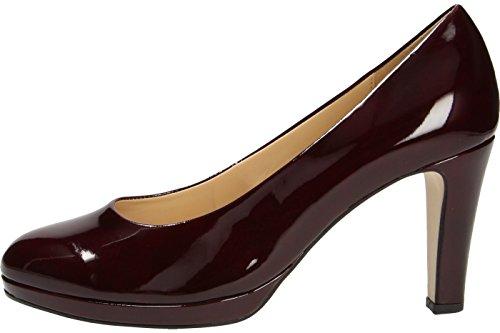 Gabor  51.270.71, Escarpins pour femme Rouge rouge merlot (LFS natur)