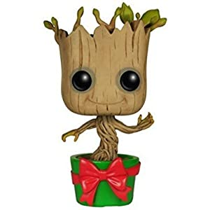Marvel Figura de vinilo Holiday Dancing Groot coleccin Guardians of the Galaxy Funko 6196