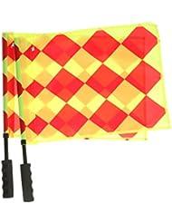 Juez De Línea Partido De Fútbol Del Deporte árbitro De Fútbol Bandera De Formación De Bandera De Hockey 2x