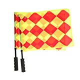 #9: Generic 2Pcs Soccer Referee Flags Sports Football Linesman Flag Ball Game Training Flag
