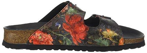 Papillio Damen Arizona Sandalen Mehrfarbig (Multicolore Floral Bouquet)