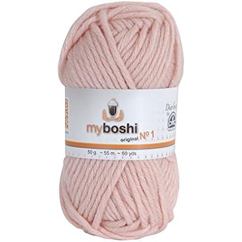 MyBoshi-Gomitolo per lavoro a maglia e uncinetto, misto lana, in polvere (1 unità)