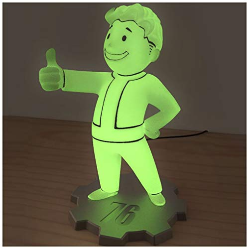 Rubberroad Fallout 76 Vault Boy LED Lamp Not Machine Specific