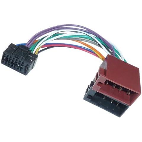Adapter-Universe® 1110 Alpine - Cavo adattatore per autoradio DIN ISO CDA CDE RM R RB E RI CDM FLEX