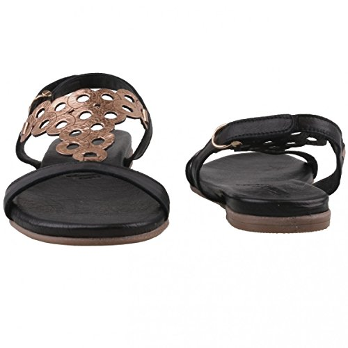 Tamaris  1-1-28102-28/059, Sandales pour femme noir BLACK/ROSE MET BLACK/ROSE MET