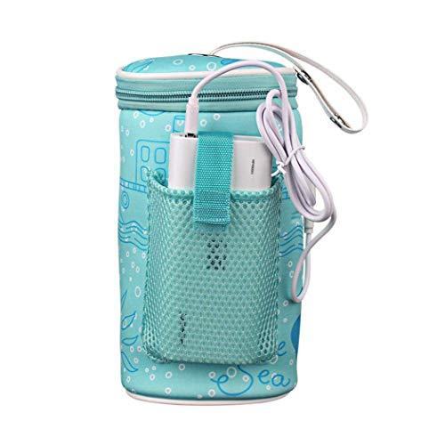 Baby-Flaschen-Beutel-thermischer Fütterungs-Wärmer-Flaschen-Beutel-tragbares Auto-Baby-Flaschen-Heizung intelligentes USB-Heizungs-Werkzeug für Reise im Freien -