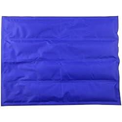 NWYJR Cool esteras de enfriamiento de perro y gato esteras enfriamiento fresco gel Mat alivio del calor no tóxico cómodo enfriamiento de la almohadilla de la cama de insolación cojín de PET , deep blue