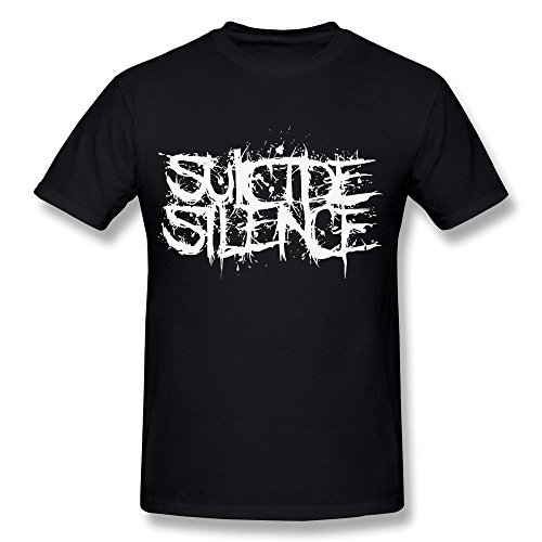 Delifhted Men's Suicide Silence Logo T-shirt