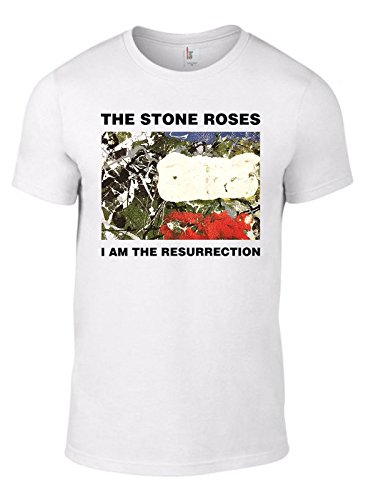 I Am The Resurrection 1992 Single T-shirt for Men, White - S to XXXL