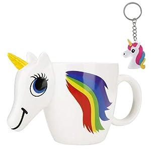 Taza de Unicornio 3D que