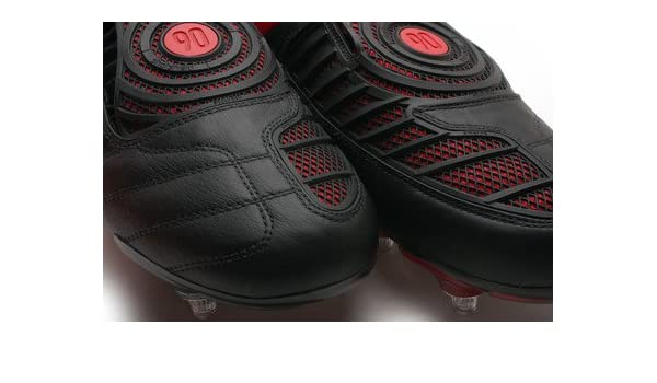 finest selection af735 d312d Total 90 Laser II K Kids SG Football Boots Black White Comet Red - size  5.5  Amazon.co.uk  Shoes   Bags