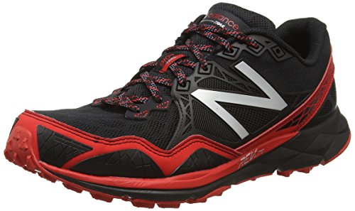 New Balance 910, Chaussures de Trail Homme Multicolore (Black/Red 009)