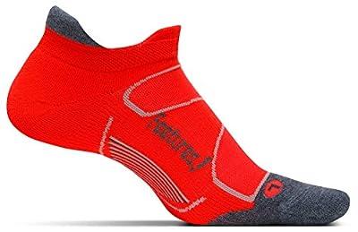 FEETURES! Running Socks - Elite MAX Cushion : No Show Tab