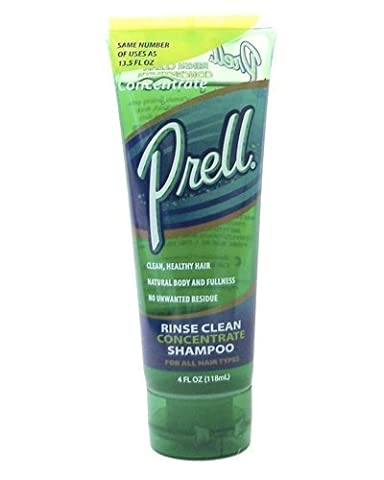 Prell Hair Rinse Clean Concentrate Shampoo - 4 Oz (Pack of 3) by Prell