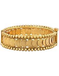 BFC- Buy For Change Women's Designer Stylish Gold Plated Bangle / Bracelet / Kada For Festival , Special Occasion...