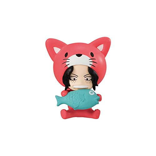 Preisvergleich Produktbild One piece Desktop Mascot Mini Figure~Nyan piece~Cat Portgas D Ace