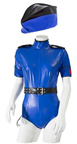 GP DATEX sexy Polizei Kostüm - Gr. L - Fb. Blau
