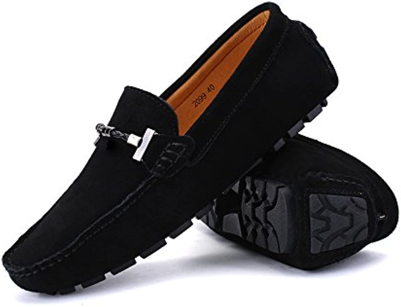 Hongjun-Chaussure s, Chaussures Homme Mocassins 2018 Mocassins Homme de Conduite à la Main pour Hommes Suede Low-Top Mocassins de Travail... 2e7daa