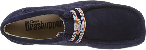 Sioux Grashopper-d-141, Mocassins (Loafers) Femme Blau (Atlantic)