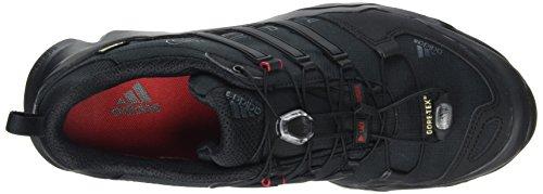 adidas Herren Terrex Swift R GTX Trekking-& Wanderhalbschuhe Schwarz (core Black/dark Grey/power Red)