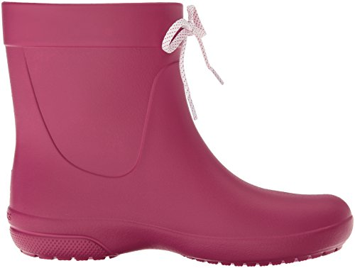 Crocs Freesail Shorty Rainboot Berry, Stivali di Gomma Donna Rosso (Berry)