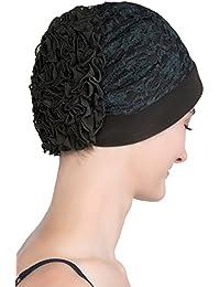 Elegant Spitze Kopfbedeckung für Haarverlust, Krebs, Chemotherapie