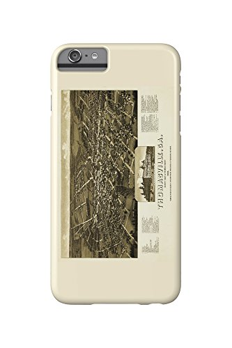 thomasville-georgia-panoramic-map-iphone-6-plus-cell-phone-case-slim-barely-there