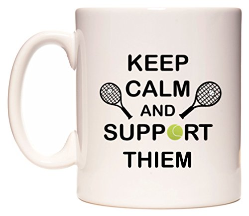 WeDoMugs Keep Calm And Support Thiem Tasse