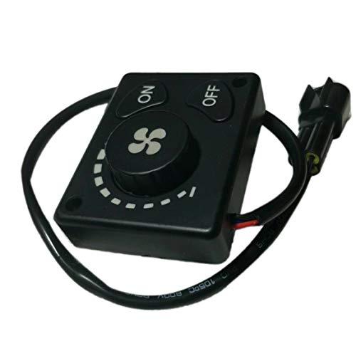 L/ève-Vitre Bouton Poussoir Keenso Couvercle dInterrupteur dAlimentation Boutons de Contr/ôle Commutateur de Commande de Vitre Electrique SI-A0977