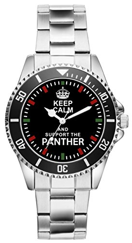 Keep Panther Geschenk Artikel Idee Fan Uhr 1845