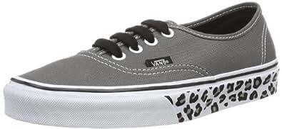 Vans Unisex Adults' U AUTHENTIC  (LEOPARD SIDEWA Low Gray Size: 4