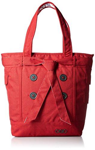 Ogio Hamptons Tote Red - Ogio Messenger Tasche